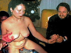 The cuckold Michel steuve loves to share her wife Colette Choisez with everybody